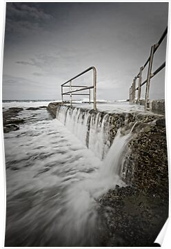 Back of the Baths by Mark Snelson