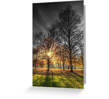 Greenwich Park London Greeting Card