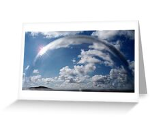 Sky in Semi Bubble - what kind of bubble? Greeting Card