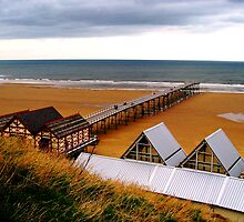 Saltburn Pier by Verity Barnes