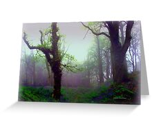 Mystical Morning Greeting Card