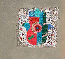 chamsa mosaic by aska2