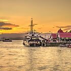Oban Sunset  by Rob Hawkins