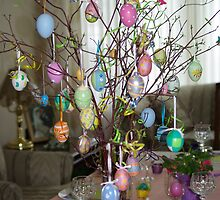 Easter Tree by Brittany Schneider