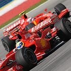 Scuderia Ferrari Marlboro Felipe Massa Brazil F1 Sepang Malaysia by afby