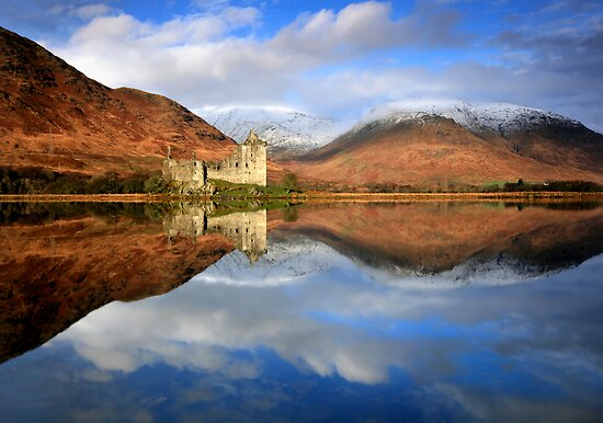 Kilchurn Castle : Scottish Reflections by Angie Latham