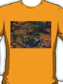 Impressions of a Little Forest Creek in the Fall T-Shirt
