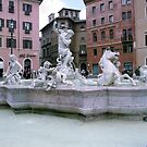 Piazza Navona, Roma by Mary Campbell