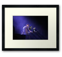 Playing with the Big Boys Framed Print