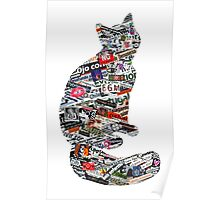 A cat can be much more than a cat! Poster