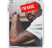 "Tupac ""Im Rare"" Supreme iPad Case/Skin"