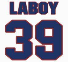 National baseball player Coco Laboy jersey 39 by imsport