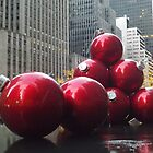 Holiday Decorations, Rockefeller Center, New York City by lenspiro