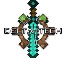 Delta-o-Tech Minecraft Logo by Delta-o-Tech