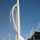 Spinnaker Tower1 by Richard Edwards