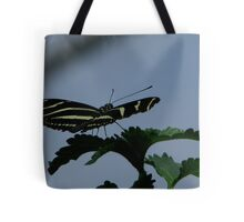 Zebra Longwing Tote Bag