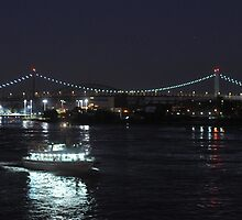 Party Boat on East River by MissCellaneous