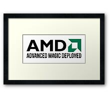 AMD Advanced Magic Deployed Framed Print