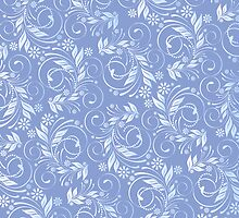 blue pattern by VioDeSign