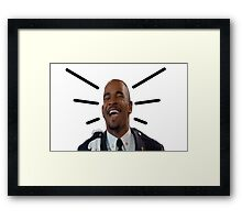Other Guys Wayans Laugh Framed Print