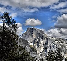 Half Dome with a Crown by Josh Myers