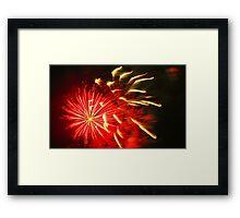 Firework #1 Framed Print