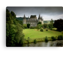 The Castle of  Clan Campbell Canvas Print