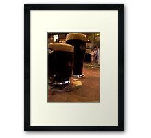 Tall and small Framed Print