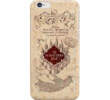The Marauder's Map Phone Case iPhone Case/Skin