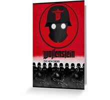 Wolfenstein: The New Order Greeting Card