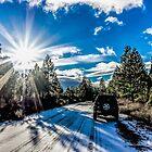 Snow-n-sun by Richard Bozarth