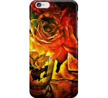 Roses In The Light iPhone Case/Skin