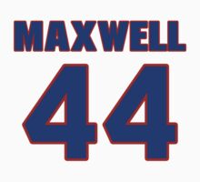 National baseball player Justin Maxwell jersey 44 by imsport