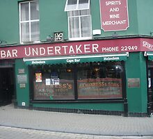 Bar undertaker by Guy Morton