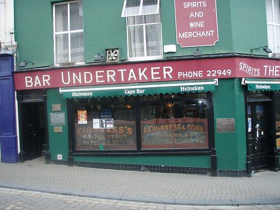 Bar undertaker by Guy Morton