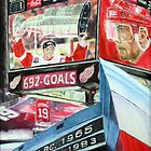 Steve Yzerman- Detroit Redwings by Christopher Ripley