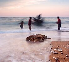 A Day With The Fishermen 1 by Tony Elieh