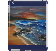 Breaking waves iPad Case/Skin