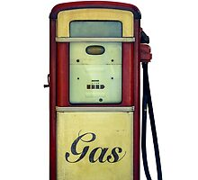 Classic Gas Pump by mrdoomits
