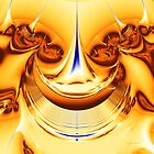 Gold Splash 01 by Dr. Vinod Chauhan
