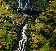 Waterfall Connemara by Kenart