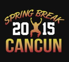 Limited Edition 'Spring Break Cancun 2015' T-Shirt and Gift Ideas by Albany Retro