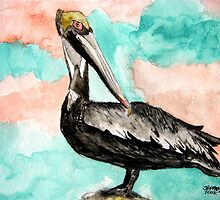 pelican bird 3 by derekmccrea