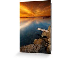 Walk the Plank Greeting Card