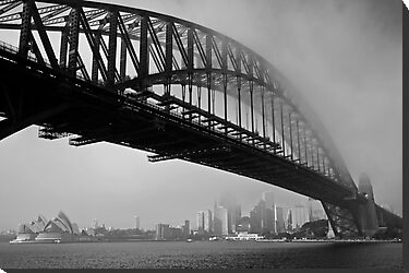 Sydney Harbour Fog by Mark Snelson