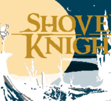 Shovel  Knight moonset Sticker