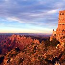 Grand Canyon WatchTower by Mooreky5