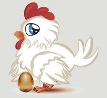 Hen with Golden Egg T-Shirt