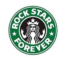Rock stars forever Photographic Print