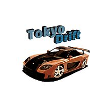Fast and Furious - Tokyo Drift Photographic Print